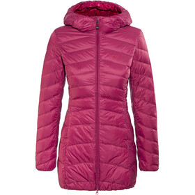 Meru Eskimo Down Coat Women Beet Red